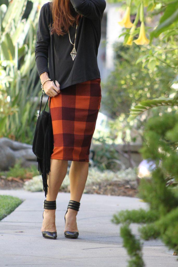 LuLaRoe Cassie Skirt- Fall