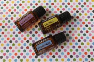 dōTERRA essential oils- Lavender, Lemon, & Peppermint